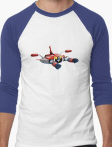 UFO ROBOT Men's Baseball ¾ T-Shirt