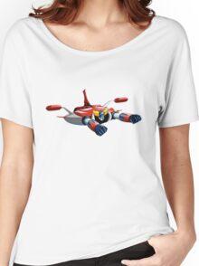 UFO ROBOT Women's Relaxed Fit T-Shirt