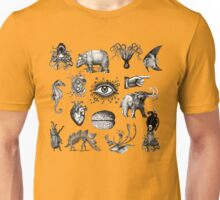 Cabinet of curiosities Unisex T-Shirt