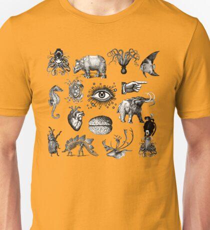 Cabinet of curiosities Unisex T-Shirt