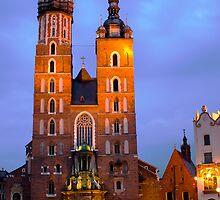 Mariacki Church by Slawomir  Piasecki