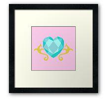 My little Pony - Princess Cadence Cutie Mark Framed Print