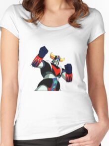 Goldrake UFO Robot Women's Fitted Scoop T-Shirt