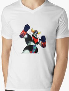 Goldrake UFO Robot Mens V-Neck T-Shirt