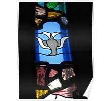 Fantasy in Stained Glass Poster