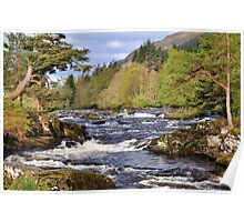 Falls Of Dochart, Killin, Scotland Poster