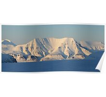 Svalbard Landscape Poster