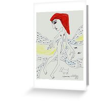Contradictory reports, by Margarita García Alonso Greeting Card