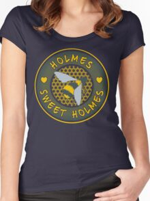 Holmes sweet Holmes Women's Fitted Scoop T-Shirt