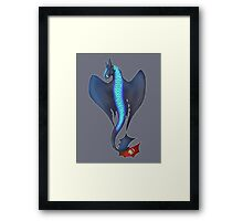 Alpha Toothless Framed Print