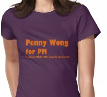 Penny Wong for PM Womens Fitted T-Shirt
