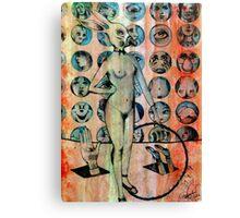 The Dada Show  Canvas Print