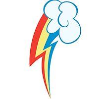 My little Pony - Rainbow Dash Cutie Mark V2 by ariados4711