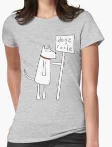 Dogs Roole Womens Fitted T-Shirt