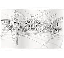 Cnr Swan & Church Sts Richmond, Victoria Poster