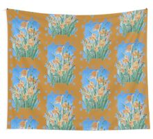 Golden Daffodils Wall Tapestry