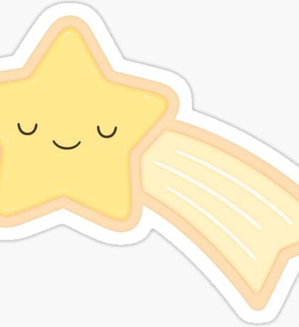 Happy Holidays - Shooting Star Sticker