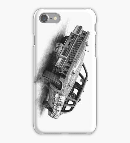 Cadillac race car iPhone Case/Skin
