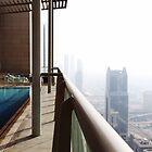 Swimming pool in the Sky by Adam Adami