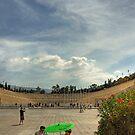 Panathinaiko Stadium by Tom Gomez