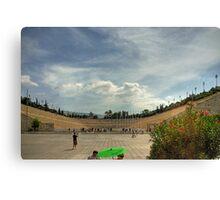 Panathinaiko Stadium Canvas Print