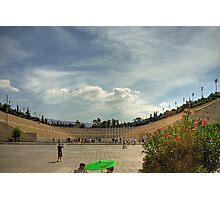 Panathinaiko Stadium Photographic Print