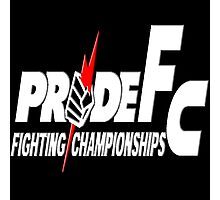Pride Fighting Championships Japanese Mixed Martial Arts Pride UFC MMA Photographic Print