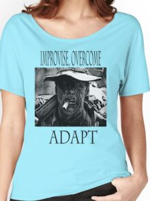 Improvise,overcome,Adapt Women's Relaxed Fit T-Shirt