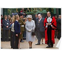 The Queen's Diamond Jubilee visit to Bromley, Kent Poster