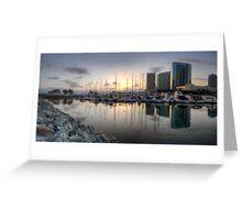Embarcadero Marina   Greeting Card