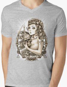 Winya No. 34 Mens V-Neck T-Shirt