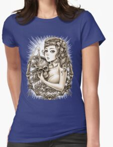 Winya No. 34 Womens Fitted T-Shirt