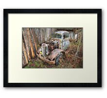 Rustic Truck Framed Print