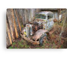 Rustic Truck Canvas Print
