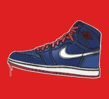 AIR JORDAN 1: BLUE GS RETRO FITTED Kids Clothes