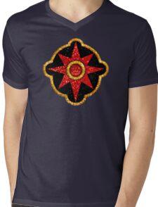 Flash Gordon Symbol Mens V-Neck T-Shirt
