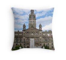 City Chambers, Glasgow Throw Pillow