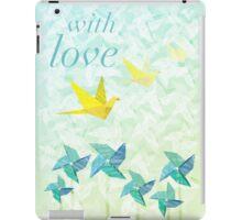 Spring Origami iPad Case/Skin