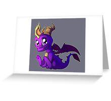 Chibi Spyro Greeting Card