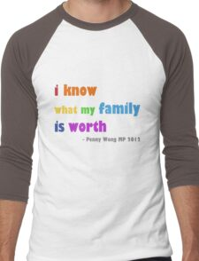 rainbow family Men's Baseball ¾ T-Shirt