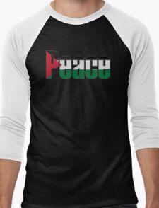 Peace in Palestine Men's Baseball ¾ T-Shirt