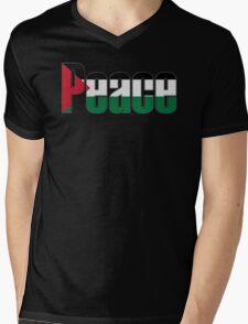 Peace in Palestine Mens V-Neck T-Shirt