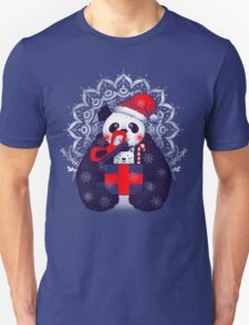 Xmas Panda Gift T-Shirt