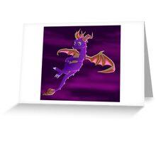 Flying Spyro - normal version Greeting Card