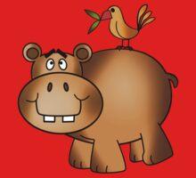 Hippo and Birdie Kids Tee