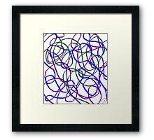 Silly String Framed Print