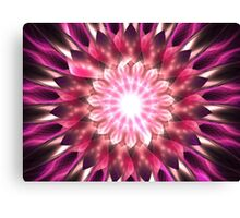 Violet Satin Canvas Print