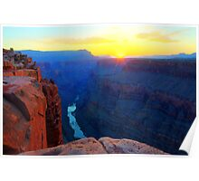 The Grand Canyon Sunrise At Toroweap Poster