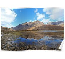 Liathach reflections, Fisherfield & Torridon Poster