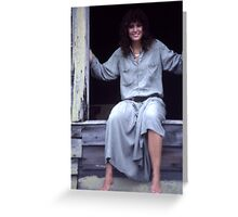 Portrait in Kodachrome KH18 Greeting Card